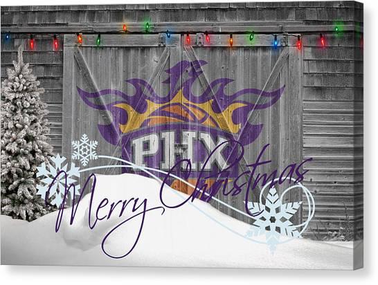 Phoenix Suns Canvas Print - Phoenix Suns by Joe Hamilton