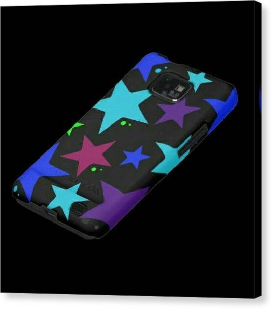 Stars Canvas Print - Phone Cases By Imaginationartshop.com by Mandy Shupp