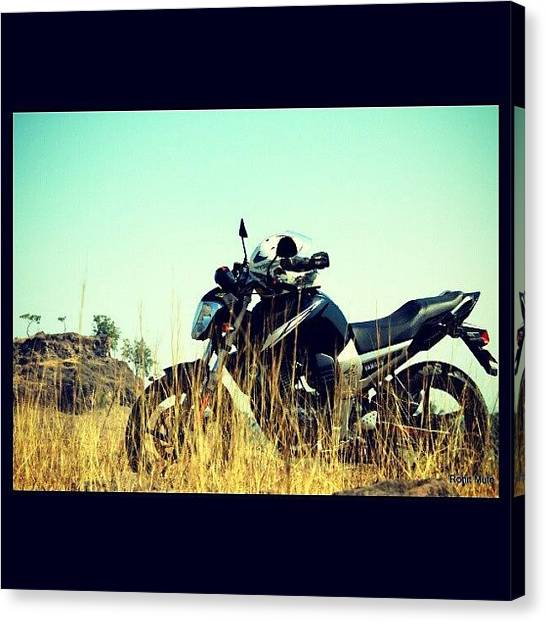 Yamaha Canvas Print - #photooftheday #photographer by Rohit Mule