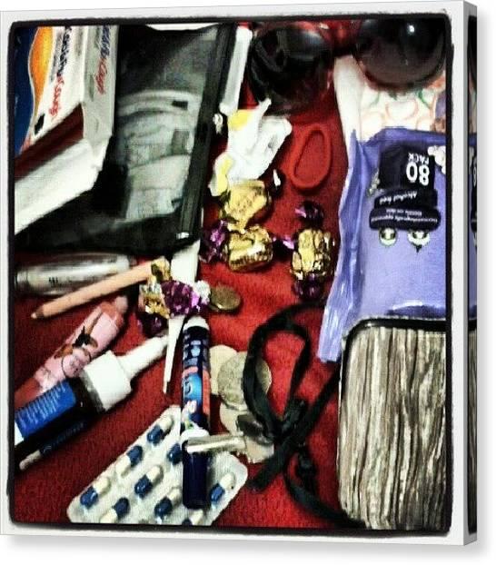 Medicine Canvas Print - #photoofthedayjune #day17 #inyourbag by Ragenangel -s