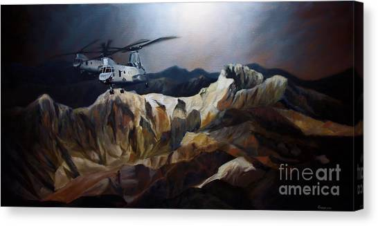 Phrogs Over Afghanistan Canvas Print