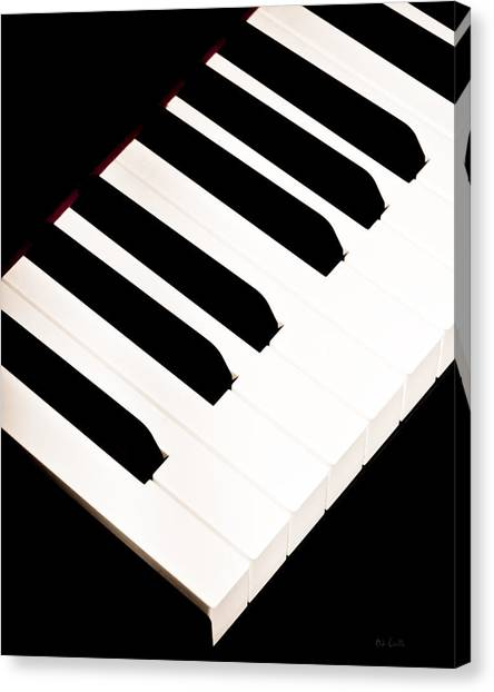 Electronic Instruments Canvas Print - Piano by Bob Orsillo