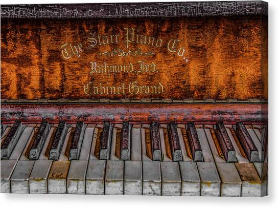 Piano Keys #1 Canvas Print