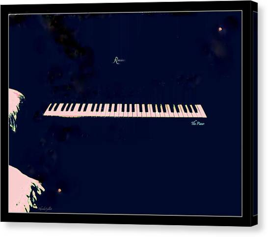 Canvas Print - Piano by YoMamaBird Rhonda