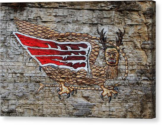 Piasa Bird Canvas Print