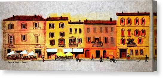 Piazza Del Popolo Canvas Print