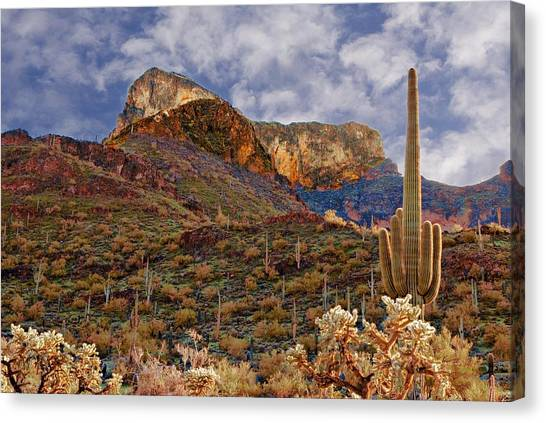 Picacho Peak Canvas Print