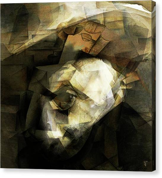 Pablo Picasso Canvas Print - Picasso by  Fli Art