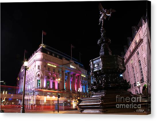 Piccadilly Circus Canvas Print by Size X