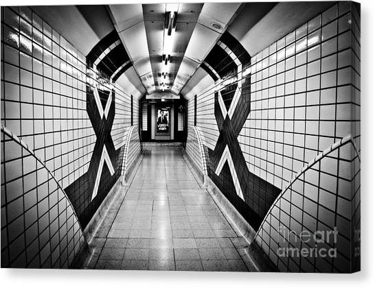 Piccadilly Circus Subway Canvas Print