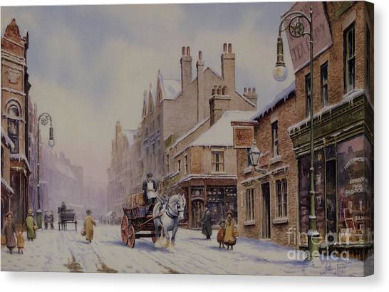 Piccadilly Hanley Canvas Print by Anthony Forster