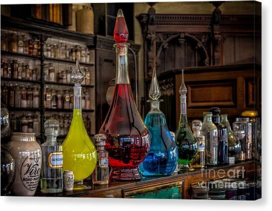 Pick An Elixir Canvas Print