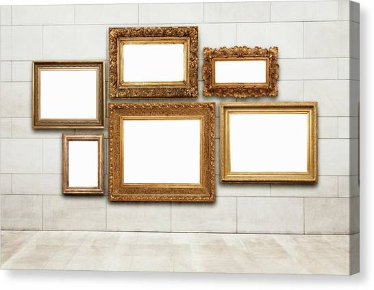 Picture Frames Canvas Print by Jorg Greuel