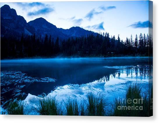 Picture Lake 3 Canvas Print