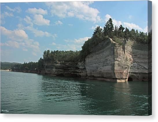 Pictured Rocks Battleship Formation Canvas Print