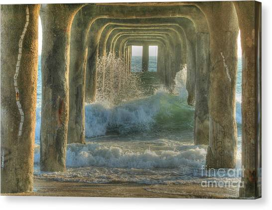 Pier Arches Canvas Print