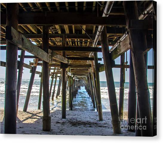 Pier Clemente Canvas Print by Baywest Imaging