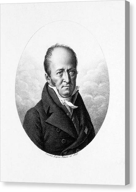 The Legion Canvas Print - Pierre Andre Latreille by National Library Of Medicine