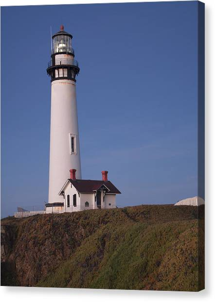 Pigeon Point Lighthouse #2 Canvas Print