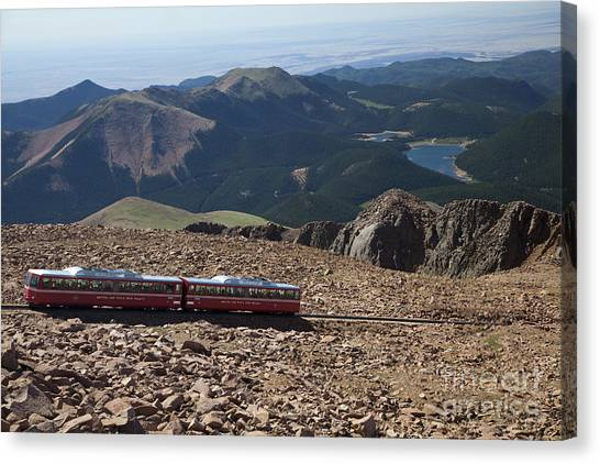 Pikes Peak Canvas Print