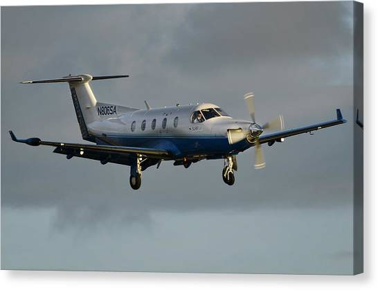 Pilatus  Pc-12-45 Canvas Print