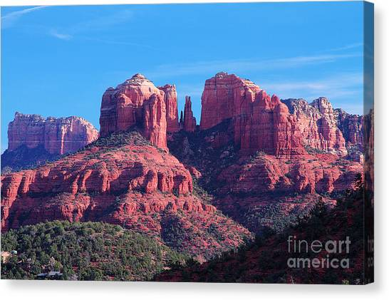 Pillars Of Greatness Canvas Print