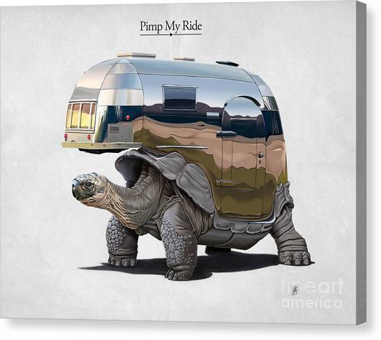 Pimp My Ride Canvas Print