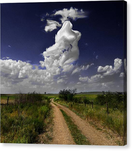 Pin-up Sky Canvas Print
