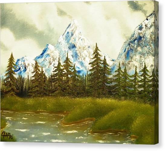 Pine Mountain River Canvas Print