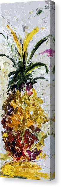 Pineapple Triptych Part 2 Canvas Print