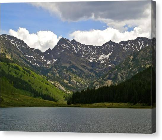 Piney Lake Vail Colorado Canvas Print