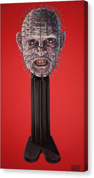Pinhead Canvas Print by Brent Andrew Doty