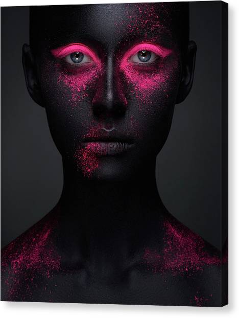 Pink Canvas Print by Alex Malikov
