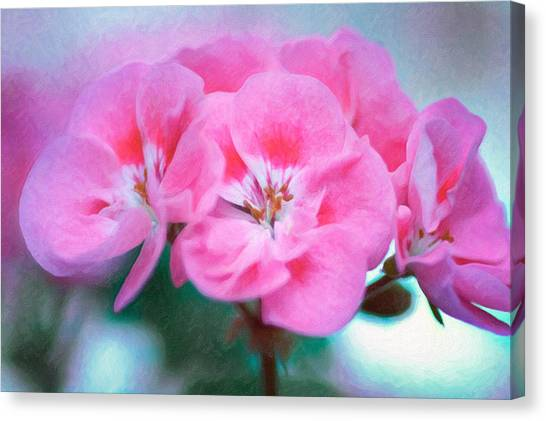 Canvas Print featuring the photograph Pink Beauty by Garvin Hunter