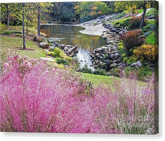 Pink Fall Canvas Print