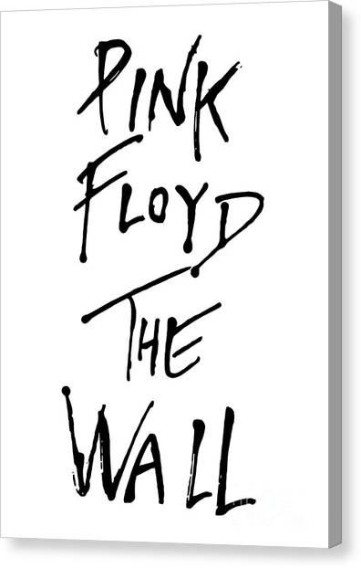 Pink Floyd Canvas Print - Pink Floyd No.01 by Geek N Rock