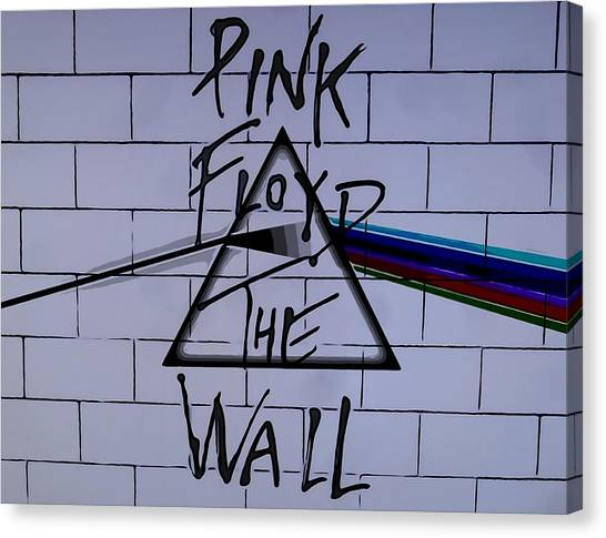 Pink Floyd Canvas Print - Pink Floyd Poster by Dan Sproul