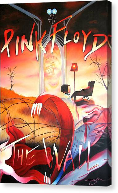 Pink Floyd The Wall Canvas Print