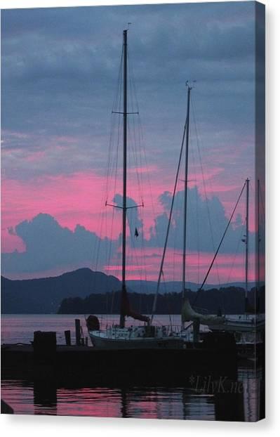 Pink Night Canvas Print