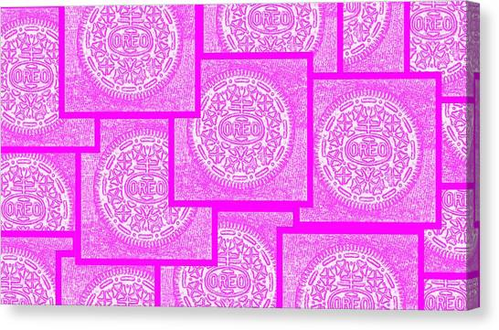 Nabisco Canvas Print - Pink Oreos For The Cure by Rob Hans