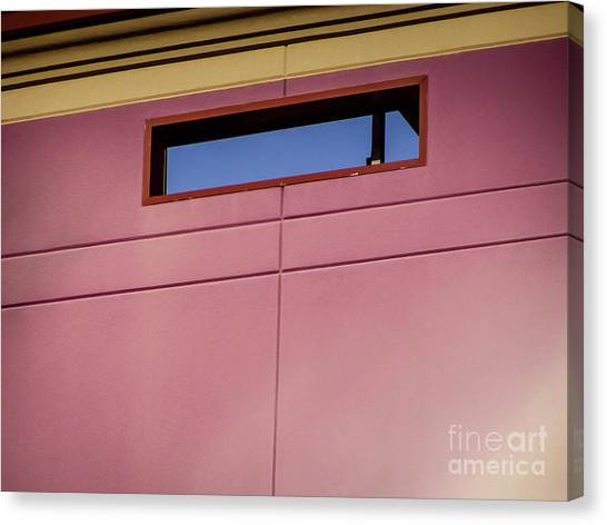 Pink Wall The Floyd Canvas Print