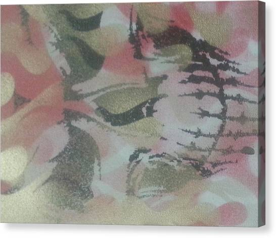 Pink Camo Canvas Print - Pinked  by Rdb