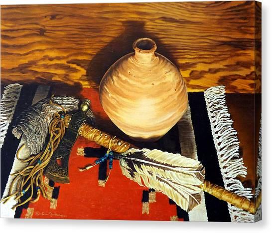 Pipe Hawk Canvas Print