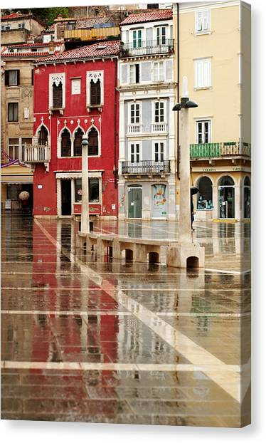 Piran Tartini Square Canvas Print