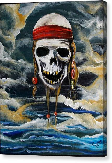 Pirate Past Canvas Print