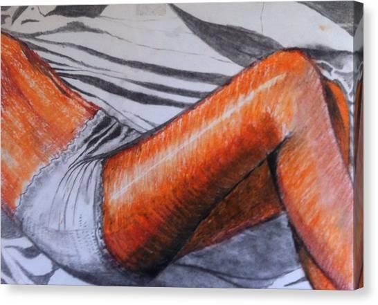 Pirelli Lady Canvas Print