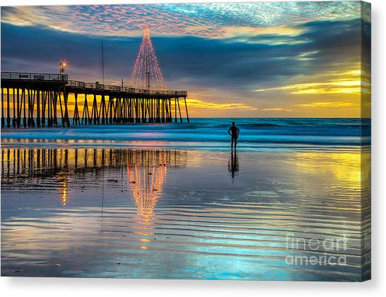 California Christmas Canvas Print