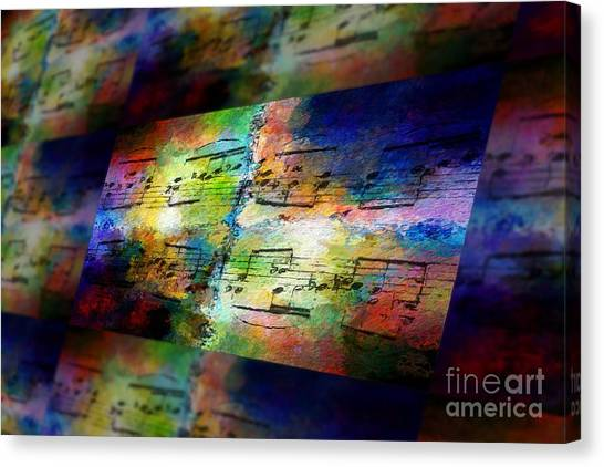 Pitch Space 2 Canvas Print