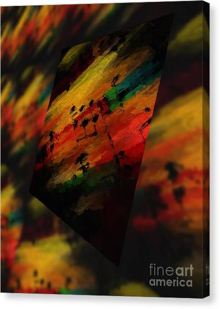 Pitch Space 5 Canvas Print