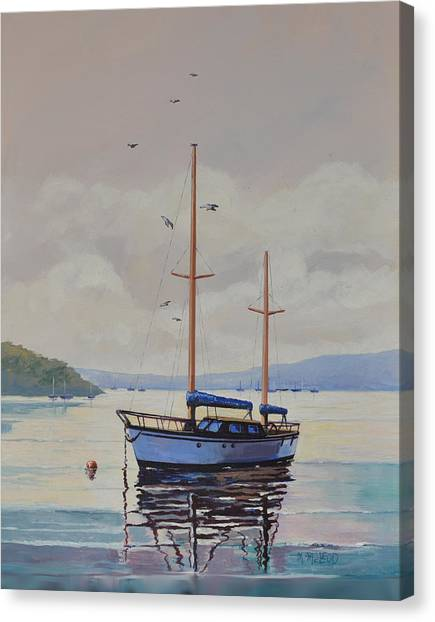 Pittwater Calm Canvas Print